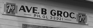 old sign with phone number