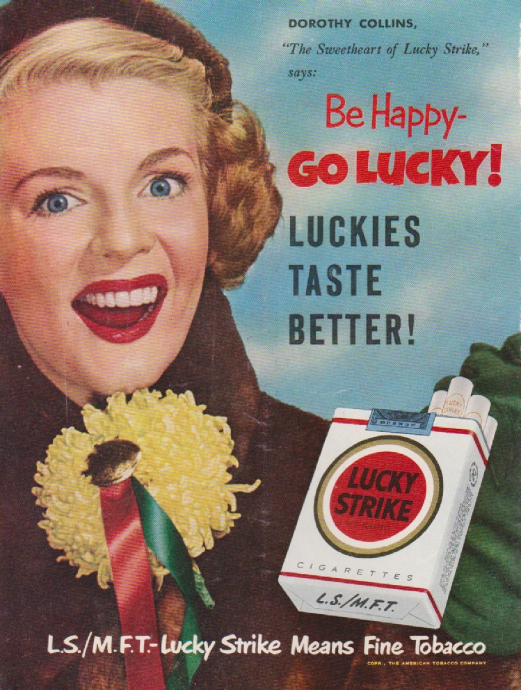 Lucky Strike Means Fine Tobacco